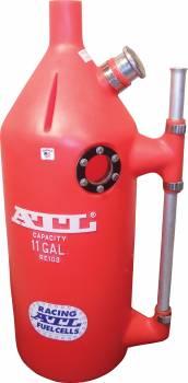 ATL Racing Fuel Cells - ATL Super Trick Dump Can - 11 Gallon - Red