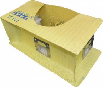"""ATL Racing Fuel Cells - ATL 2-Pump Fabric Surge Tank - 1 Gallon - 3 Door - 10"""" x 10"""" x 5"""""""