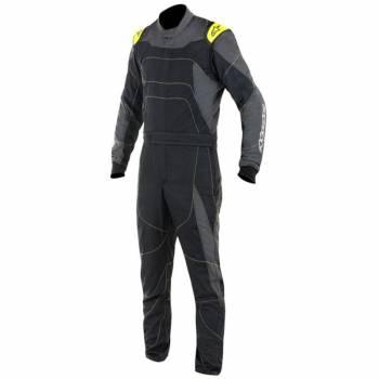 Alpinestars GP Race Suit?- Black/Anthracite/Fluo Yellow - 3355117-1155