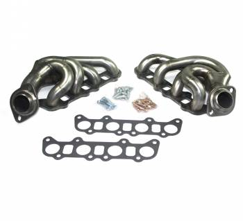 """JBA Performance Exhaust - JBA Cat4ward Shorty Style Headers - 1-3/4"""" Primary - 2-1/2"""" Collector - Stainless 5.0 L - Coyote - Ford Full-Size Truck 2011-17"""