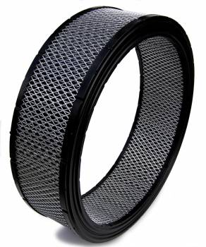 """Spyder Filters - Spyder Air Filter Element - Dirt Racing/Off Road - 14"""" Diameter - 4"""" Tall - Reusable Cotton"""
