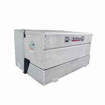 "Dee Zee - Dee Zee Auxiliary Fuel Tank - 50 Gal. - 48 x 30 x 24"" Tall - Tool Box - Aluminum - Diamond Plate"