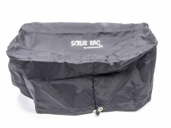 """Outerwears Performance Products - Outerwears Scrub Bag - 5-1/2 x 9"""" Base - 4-1/2 x 9"""" Top - 6-1/4"""" Tall - Polyester - Black - Sprint Air Filters"""