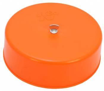 "K&N Filters - K&N Carburetor Cover - 2.36"" Tall - Plastic - Orange - 7-5/16"" Flange"