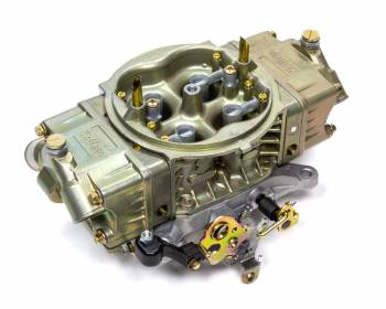Willy's Carburetors - Willy's GM602 Carburetor - 4-Barrel - 750 CFM - Square Bore - No Choke - Mechanical Secondary - Dual Inlet - Black Powder Coat - 602 Crate Engine