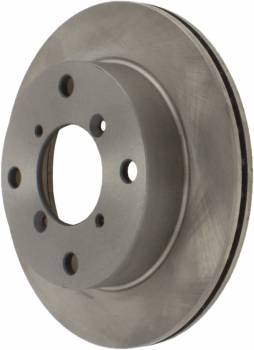 Centric Parts - Centric C-Tek Brake Rotor - 231.2 mm OD - 17 mm Thick - 4 x 114.3 mm Bolt Pattern - Iron - Natural