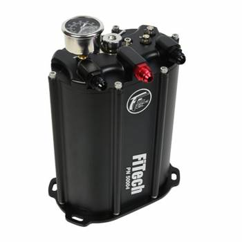 Fitech Fuel Injection - FiTech 340LPH Force Fuel System - Black Finish
