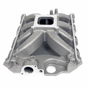 Trick Flow - Trick Flow Track Heat Intake Manifold - Square Bore - Single Plane - Aluminum - Natural - Ford FE-Series