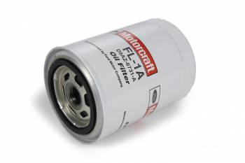 "Motorcraft - Motorcraft Canister Oil Filter - Screw-On - 3/4-16"" Thread - Steel - White - Ford"