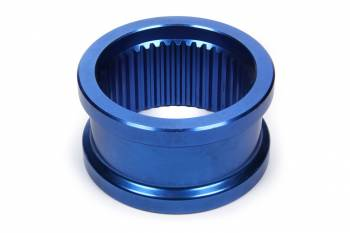 """MPD Racing - MPD Axle Spacer - 1.875"""" Wide - Tapered - 42 Spline - Aluminum - Blue Anodize - Sprint Car"""