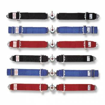 """Simpson Performance Products - Simpson 3"""" Camlock Lap Belts - 62"""" Bolt-In Mount - Pull Up Adjust"""