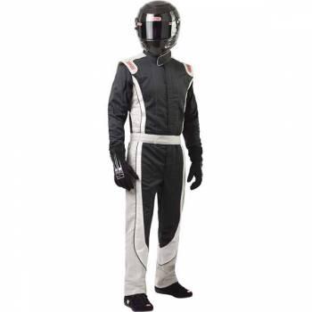 Simpson Performance Products - Simpson Crossover Racing Suit - Black/Gray - Medium