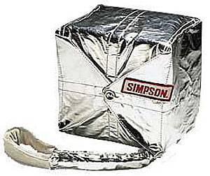 Simpson Performance Products - Simpson 12 Ft. Crossform Drag Parachute - Black