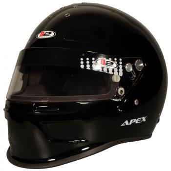 B2 Helmets - B2 Apex Helmet - Metallic Black - Small
