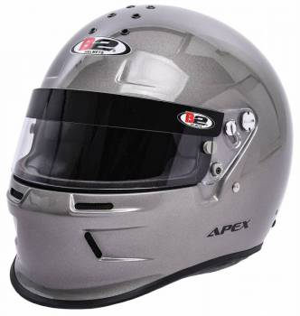 B2 Helmets - B2 ApexHelmet - Metallic Silver - Large