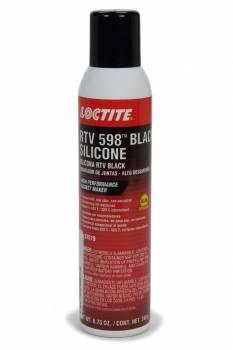Loctite - Loctite Black RTV 598 Sealant - Silicone - 8.75 oz. Aerosol