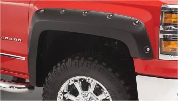 Bushwacker - Bushwacker 14-   GM Silverado 1500 Pocket Style Flares 4Pcs