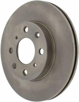 Centric Parts - Centric C-Tek Brake Rotor - 240 mm OD - 21 mm Thick - 4 x 100 mm - Iron - Honda Civic 1990-2000