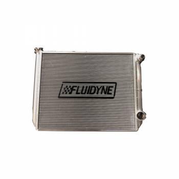 Fluidyne - Fluidyne Radiator Double Pass 29 x 18 w/Filler GM / Ford