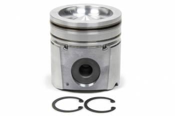 """Clevite Engine Parts - Clevite Mahle Original Cast Piston Set - 4.036"""" Bore - 2.4 x 3.0 x 4.0 mm Ring Grooves - Plus 41.8 cc - 5.9 L - Dodge Cummins"""