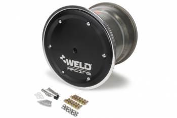 """Weld Racing - Weld Racing 15x14 Wide 5 XL 5"""" BS w/Black Cover No-Loc"""