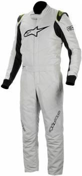 Alpinestars - Alpinestars GP Race Suit v1 - Silver/Black - Size 56