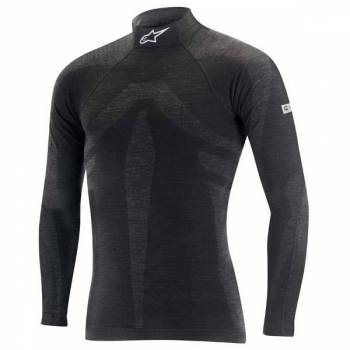 Alpinestars - Alpinestars ZX Evo v1 Long Sleeve Top - Black/Gray - X-Large/2X-Large