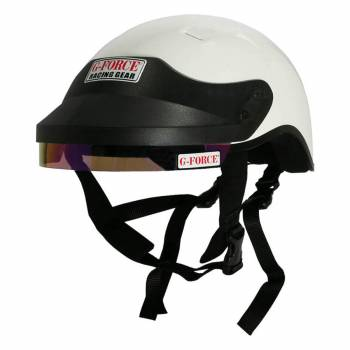 G-Force Racing Gear - G-Force DOT Crew Helmet - White - 2X-Large