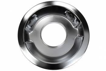 "K&N Filters - K&N Air Cleaner Base Plate - Chrome - Drop Base - 14"" - 5-1/8"" Carb Flange"