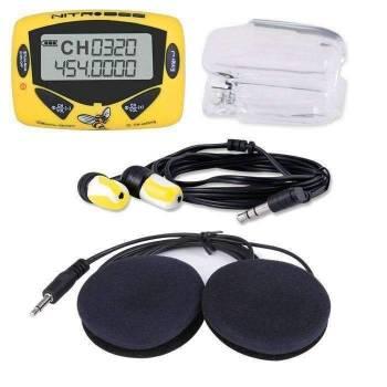 Rugged Radios - Rugged Radios Nitro Bee UHF Race Receiver with Stereo Helmet Speakers