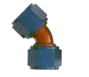 XRP - XRP 45° -08 AN Female to Female Swivel Coupling
