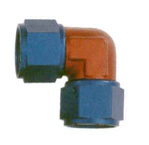 XRP - XRP 90° -06 AN Female to Female Swivel Forged Coupling