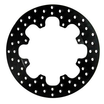 "Wilwood Engineering - Wilwood Drilled Steel Rotor - 8 Bolt - .350"" Diameter - 12"" Diameter x 7"" Bolt Circle - .328"" Hole - 5.5 lbs."