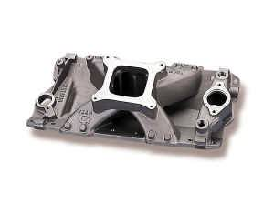 Weiand - Weiand Team G Intake Manifold - Holley Excelerator Intake Manifold Chevrolet 262 - 283 - 305 - 327 - 350 - 400 V8 1957-86 All Models; 1987-Later w/Aluminum Heads