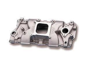 Weiand - Weiand Stealth Intake Manifold - Weiand Stealth Intake Manifold Chevrolet 262 - 283 - 305 - 327 - 350 - 400 V8 1957-86 All Models; 1987-Later w/Aluminum Heads