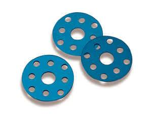 Weiand - Weiand Water Pump Pulley Spacers - Water Pump Pulley Spacer Kit