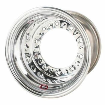 """Weld Racing - Weld Wide 5 HS Aluminum Wheel - 15"""" x 10"""" - 5"""" Back Spacing"""