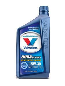 Valvoline - Valvoline® DuraBlend® Synthetic Blend Motor Oil - SAE 5W-30 - 1 Quart