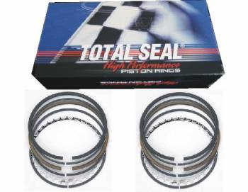 "Total Seal - Total Seal TS1 File-Fit Gapless Second Ring Piston Ring Set - 4.160"" Ring Size, 1/16"" Top Ring - 1/16"" 2nd Ring - 3/16"" Oil Ring"