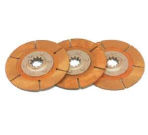 "Tilton Engineering - Tilton Clutch Disc Pack for 5.5"" Metallic 2-Plate Clutch Assemblies - 1-1/8"" x 10 Spline"