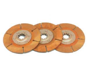 "Tilton Engineering - Tilton Clutch Disc Pack for 5.5"" Metallic 3-Plate Clutch Assemblies - 1-1/8"" x 10 Spline"