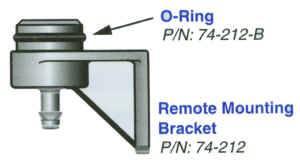 Tilton Engineering - Tilton Remote Brake Fluid Reservoir Mounting Bracket