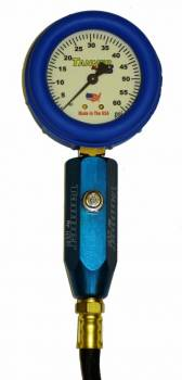Tanner Racing Products - Tanner Glow-In-The-Dark Tire Pressure Gauge - 0-15 PSI
