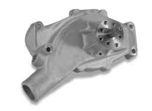 Stewart Components - Stewart Stage 2 Aluminum Water Pump - Chevrolet BB - Short