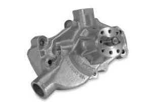 Stewart Components - Stewart Stage 2 Aluminum Water Pump - Chevrolet SB - Short
