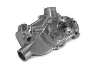 Stewart Components - Stewart Stage 2 Aluminum Water Pump - Chevrolet SB - Short