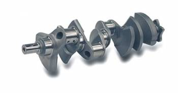 "Scat Enterprises - Scat Chevy 4340 Forged Standard Steel Crankshaft - SB Chevy 400, 3.750"" Stroke, 6.000"" Rod Length, 2.100"" Rod Journal"