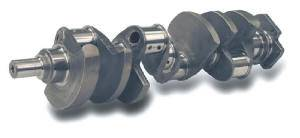 "Scat Enterprises - Scat Series 9000 Standard Cast Crankshaft - SB Chevy 350 w/ One Piece Rear Seal - 3.750"" Stroke, 5.700"" Rod Length, 2.100"" Rod Journal"