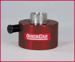 QuickCar Racing Products - QuickCar Hex Hub - Button Style Disconnect Aluminum