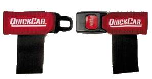 QuickCar Racing Products - QuickCar Sternum Strap - Black